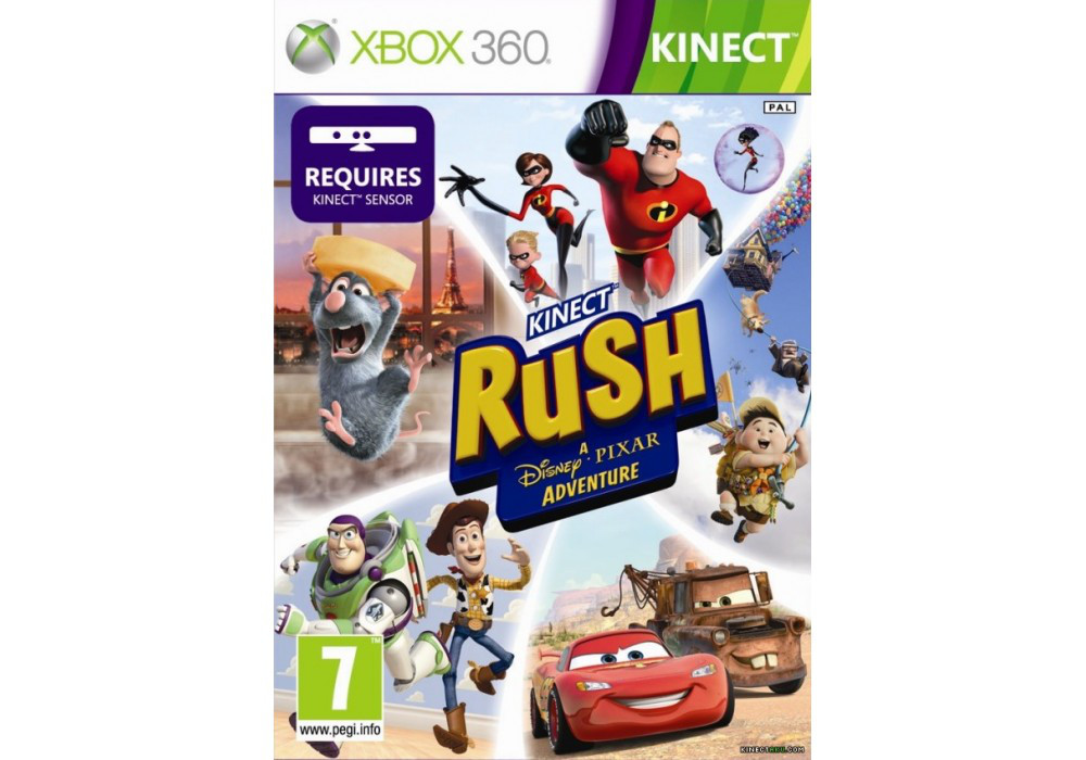 Игра для игровой консоли Xbox 360, Kinect Rush: A DisneyPixar Adventure [Kinect]