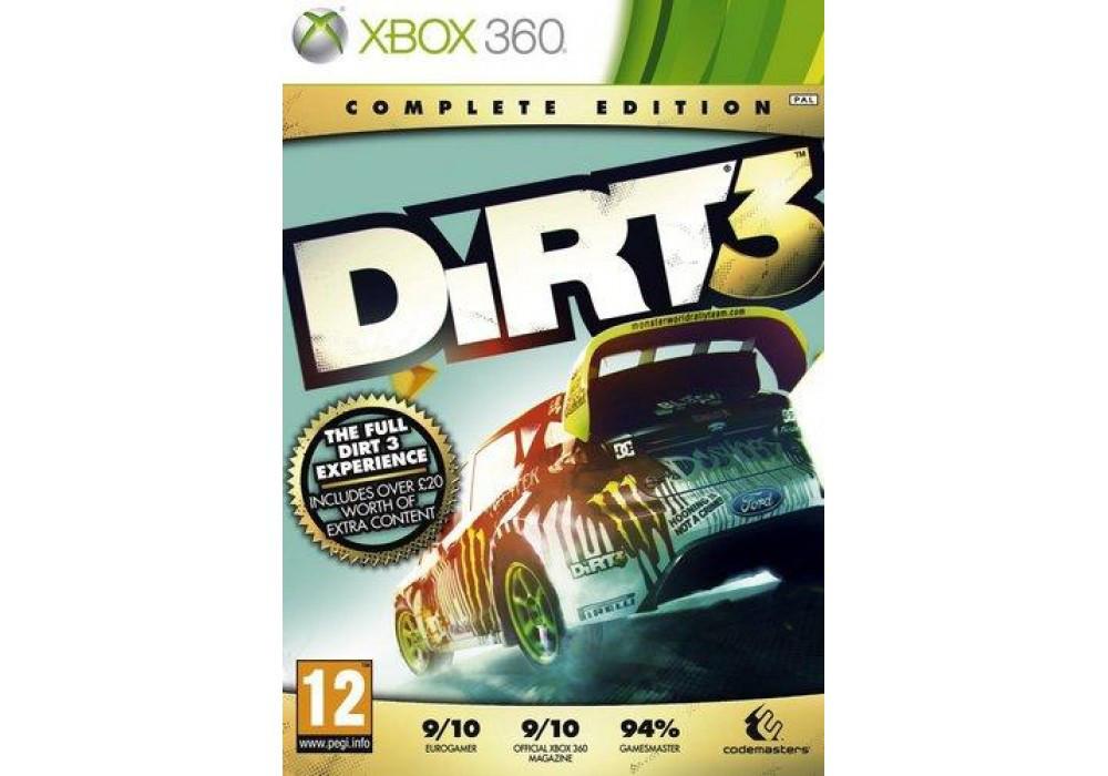 Игра для игровой консоли Xbox 360, Dirt 3 Complete Edition