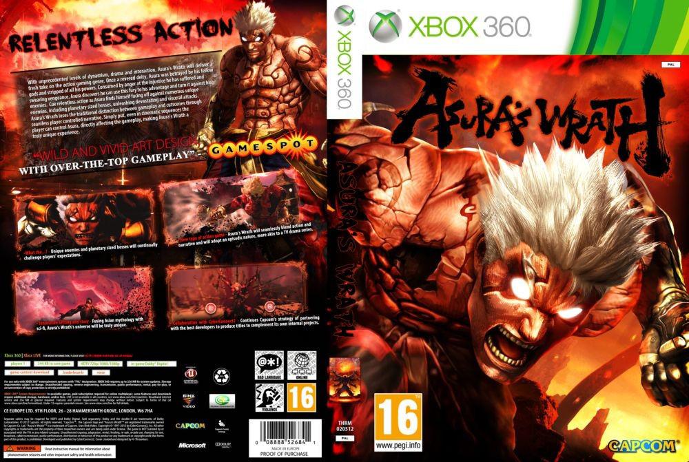 Игра для игровой консоли Xbox 360, Asura's Wrath (LT 2.0 или 3.0)