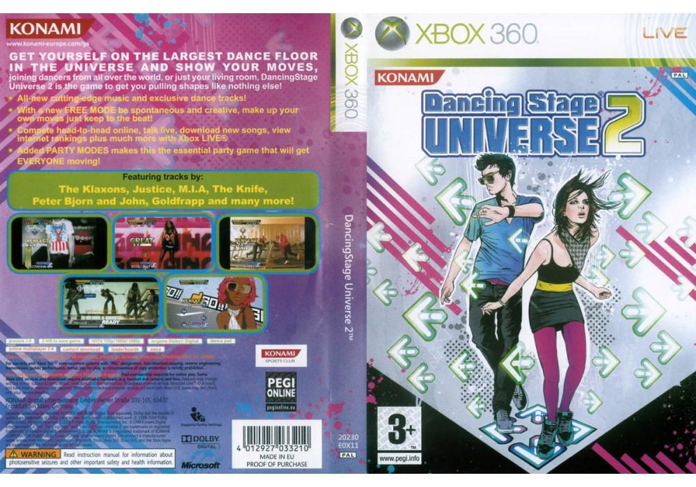 Игра для игровой консоли Xbox 360, Dancing Stage Universe 2