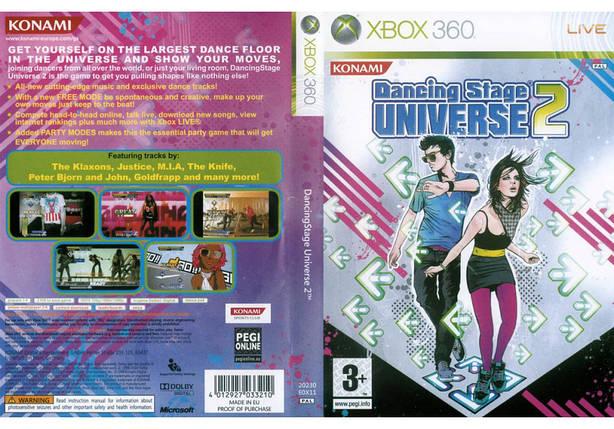 Игра для игровой консоли Xbox 360, Dancing Stage Universe 2, фото 2