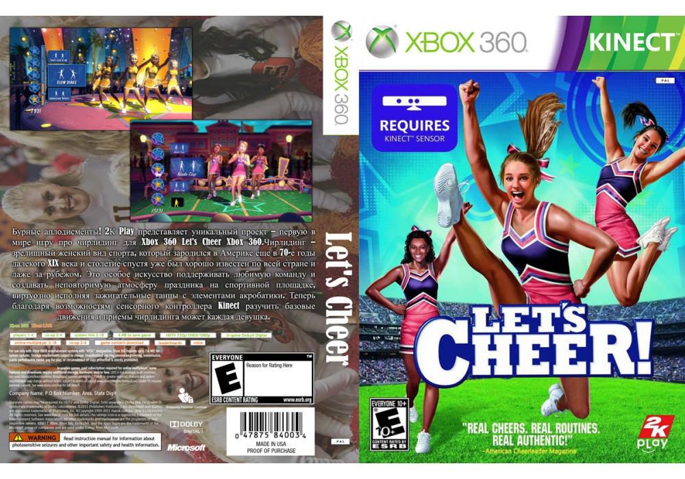 Гра для ігрової консолі Xbox 360, let's Cheer [Kinect]