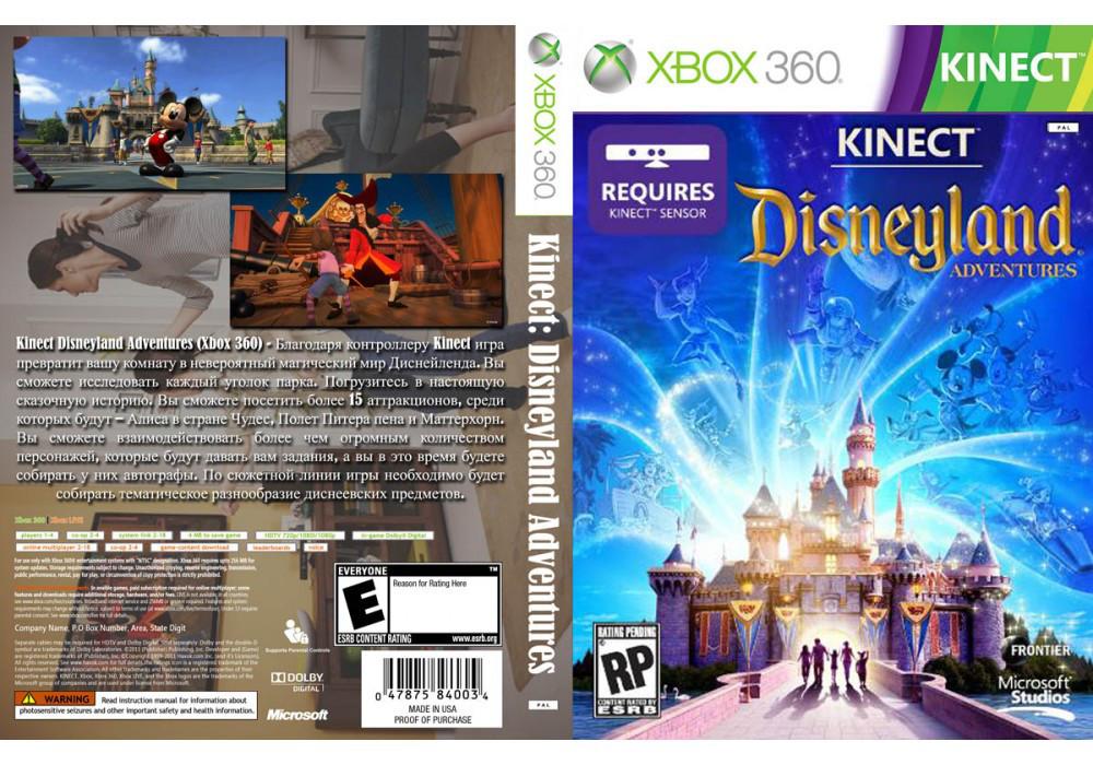 Игра для игровой консоли Xbox 360, Kinect: Disneyland Adventures [Kinect]:  продажа, цена в Днепре  видео игры от