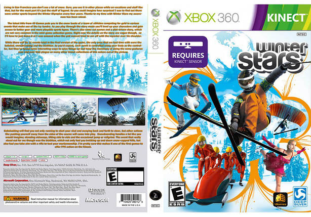 Игра для игровой консоли Xbox 360, Winter Stars [Kinect], фото 2
