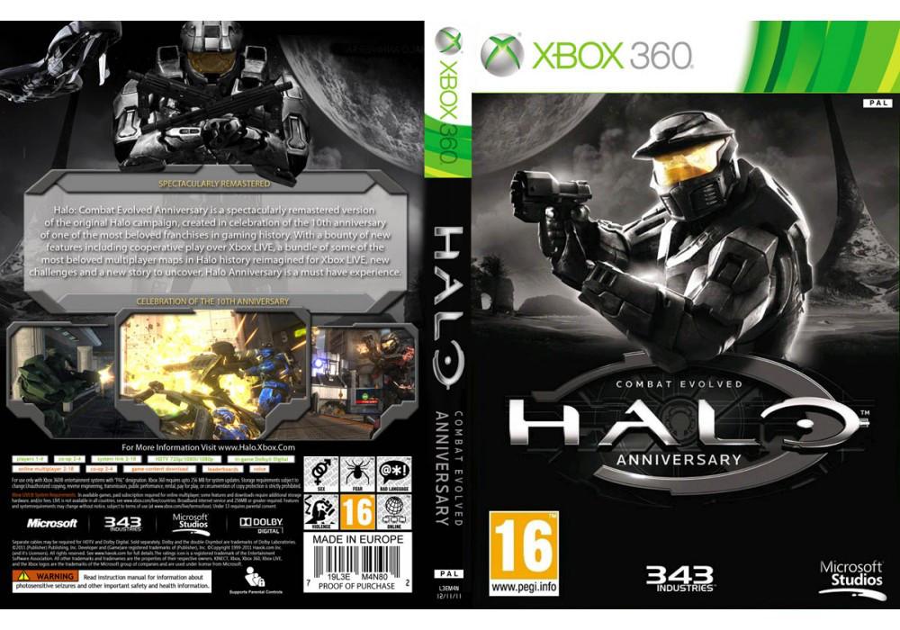 Игра для игровой консоли Xbox 360, Halo: Combat Evolved Anniversary