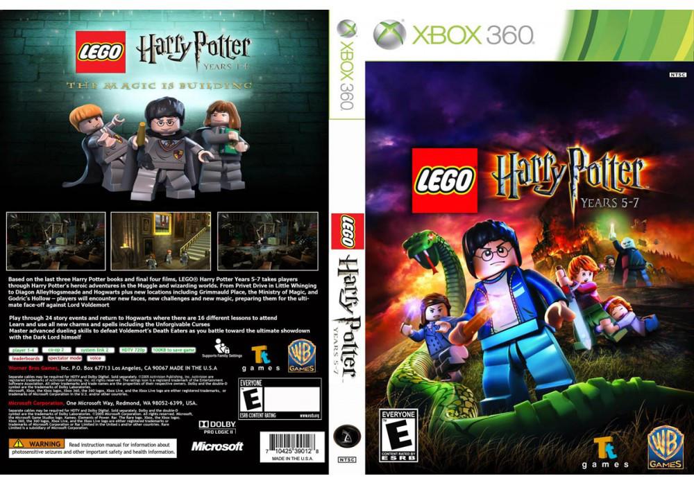 Игра для игровой консоли Xbox 360, LEGO Harry Potter: Years 5-7
