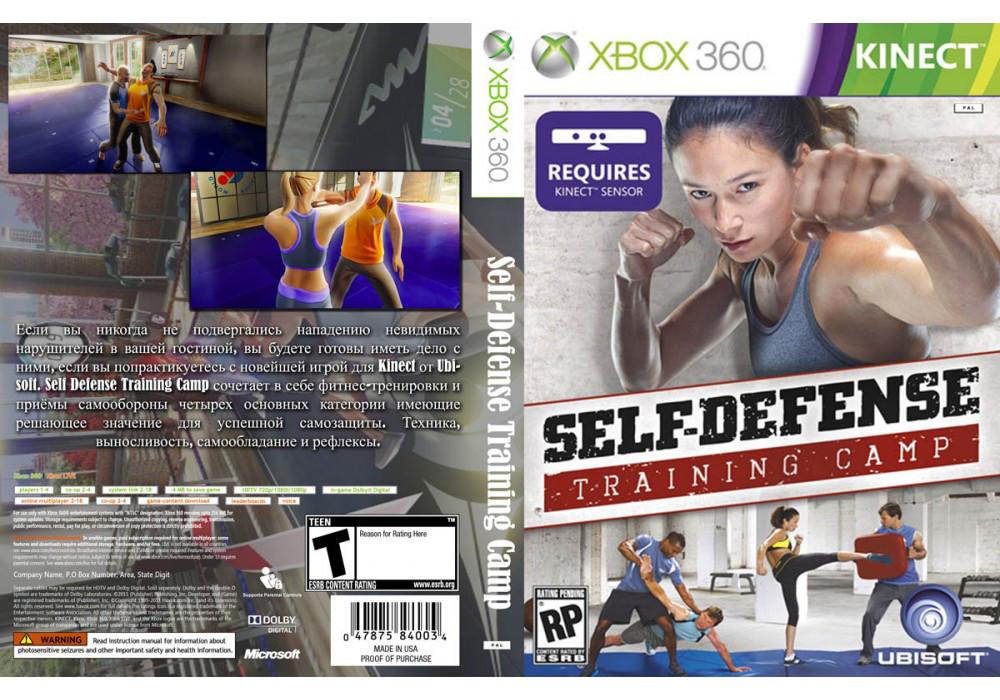 Игра для игровой консоли Xbox 360, Self Defense Training Camp [Kinect]