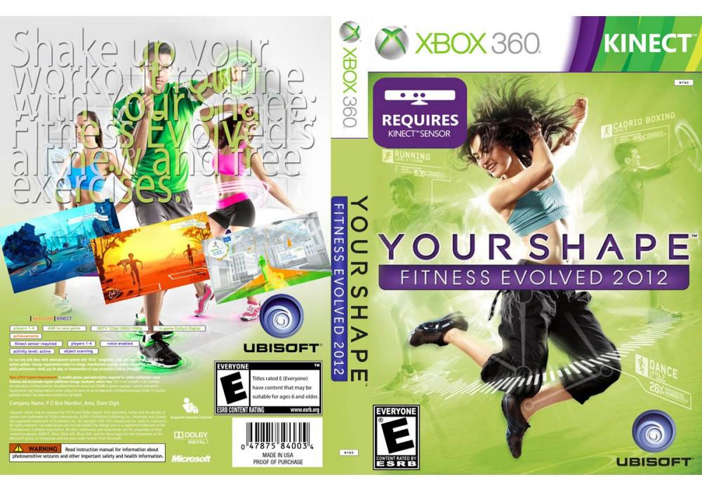 Гра для ігрової консолі Xbox 360, Your Shape Fitness Evolved 2012 [Kinect]