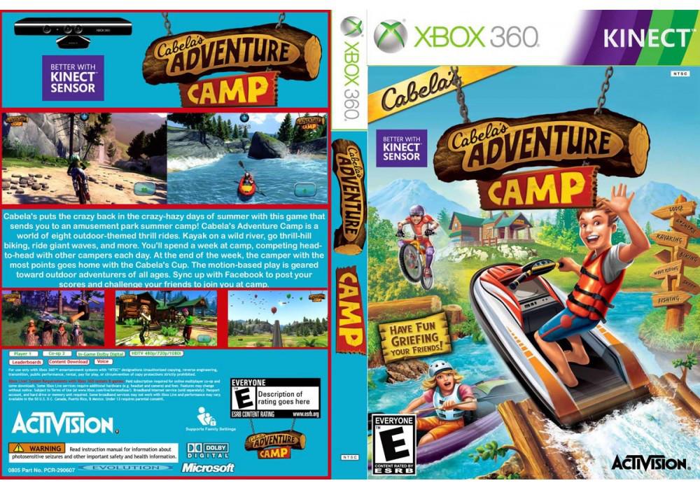 Игра для игровой консоли Xbox 360, Cabelas Adventure Camp [Kinect]