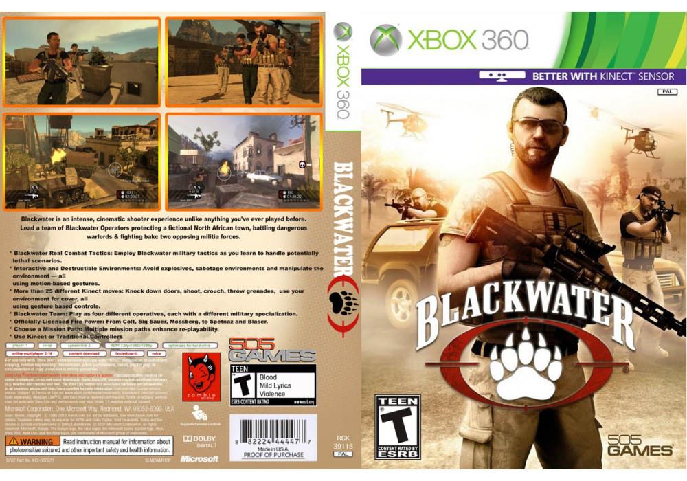 Игра для игровой консоли Xbox 360, Blackwater [интереснее с Kinect]