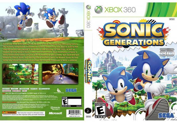Игра для игровой консоли Xbox 360, Sonic Generations, фото 2