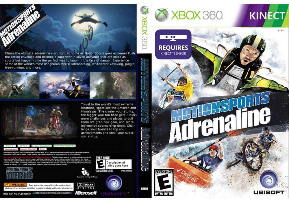 Игра для игровой консоли Xbox 360, MotionSports Adrenaline [Kinect]