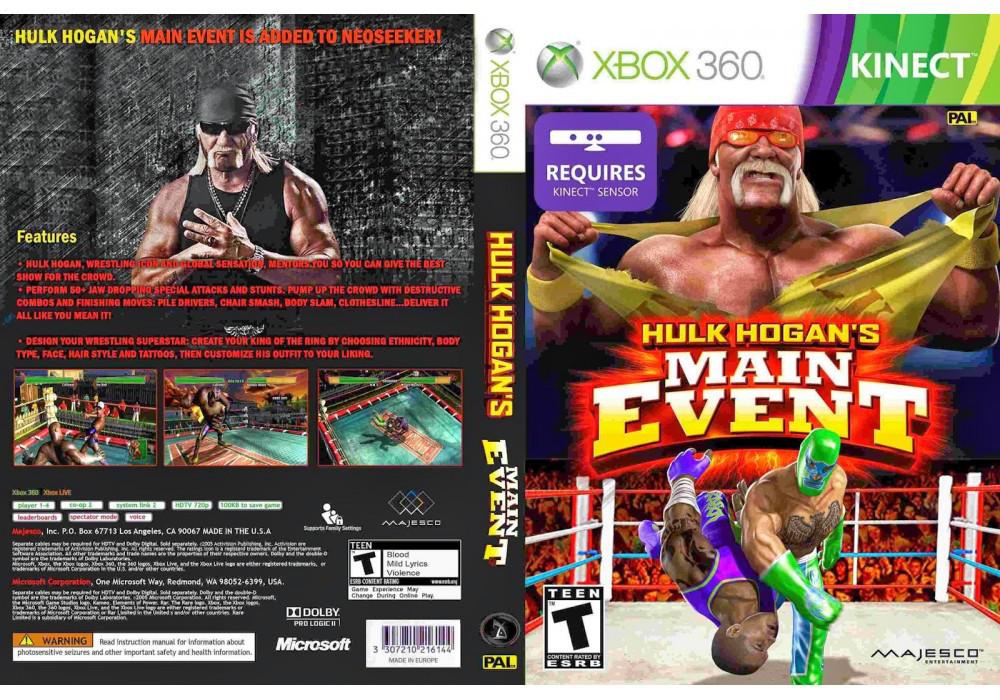 Игра для игровой консоли Xbox 360, Hulk Hogan Main Event [Kinect]