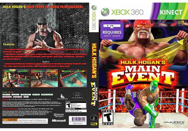 Игра для игровой консоли Xbox 360, Hulk Hogan Main Event [Kinect], фото 2