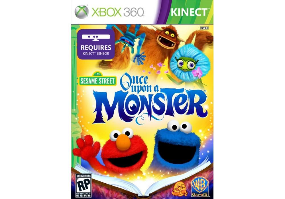 Игра для игровой консоли Xbox 360, Sesame Street: Once Upon a Monster [Kinect]