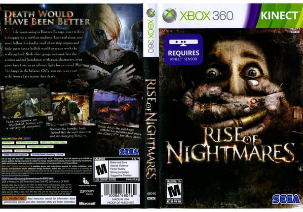Игра для игровой консоли Xbox 360, Rise of Nightmares [Kinect], фото 2