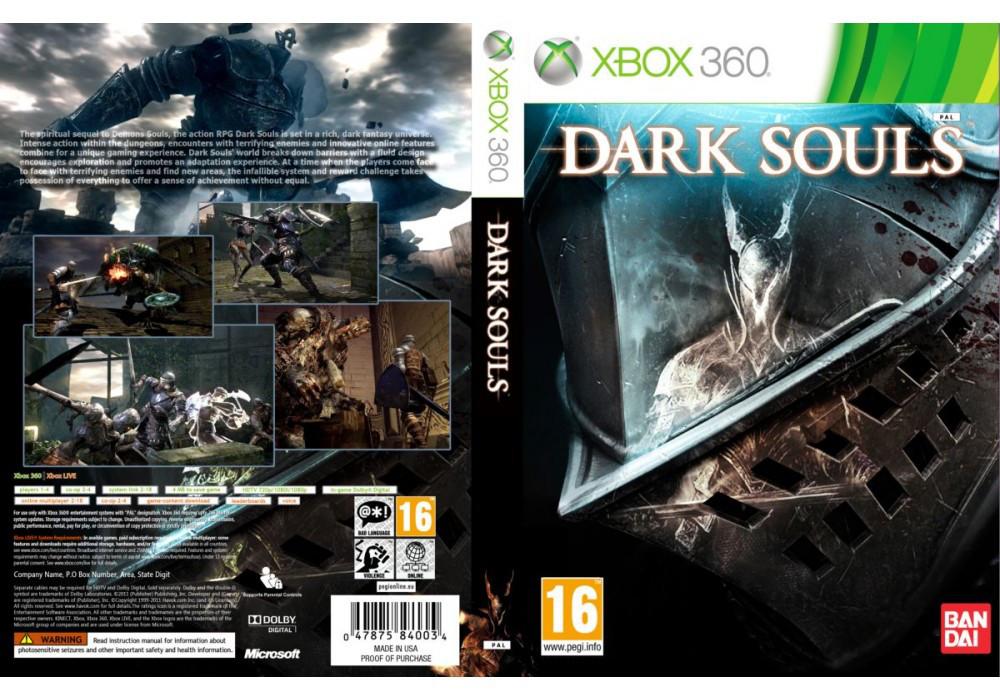 Игра для игровой консоли Xbox 360, Dark Souls