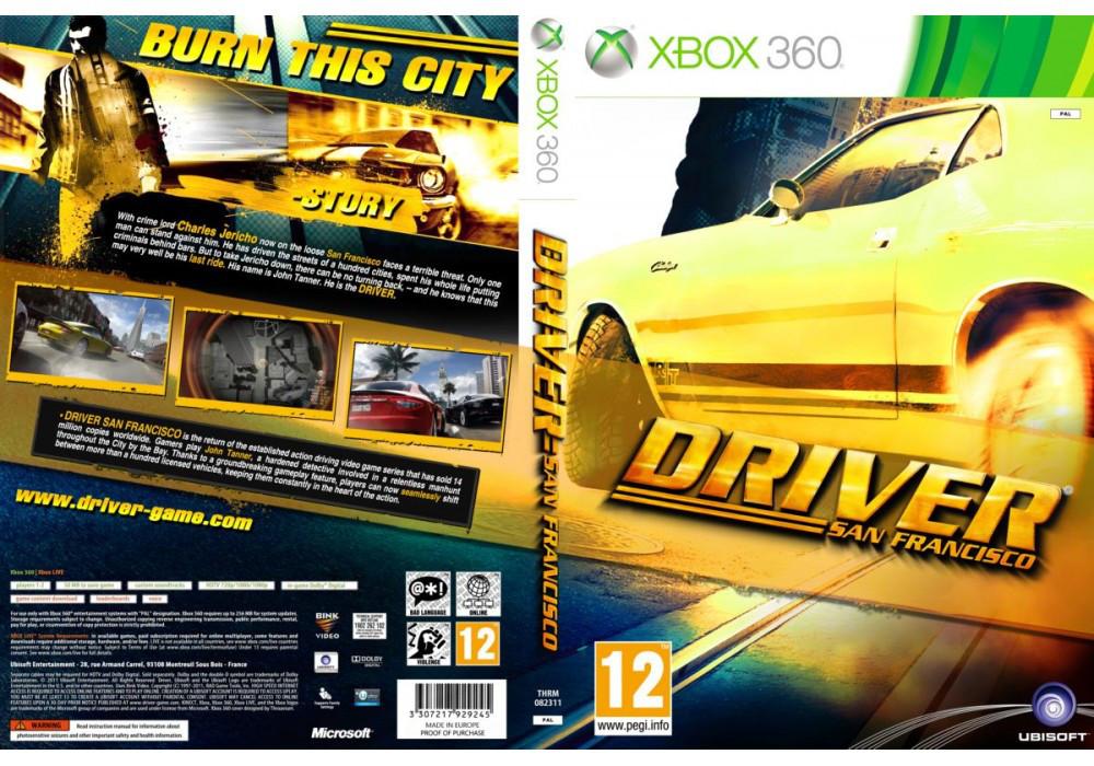 Игра для игровой консоли Xbox 360, Driver: San Francisco