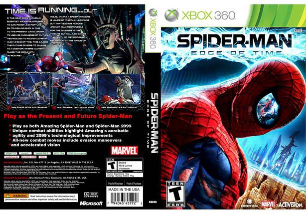 Игра для игровой консоли Xbox 360, Spider-Man: Edge of Time, фото 2