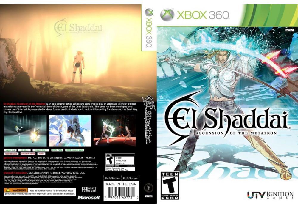 Игра для игровой консоли Xbox 360, El Shaddai Ascension of The Metatron
