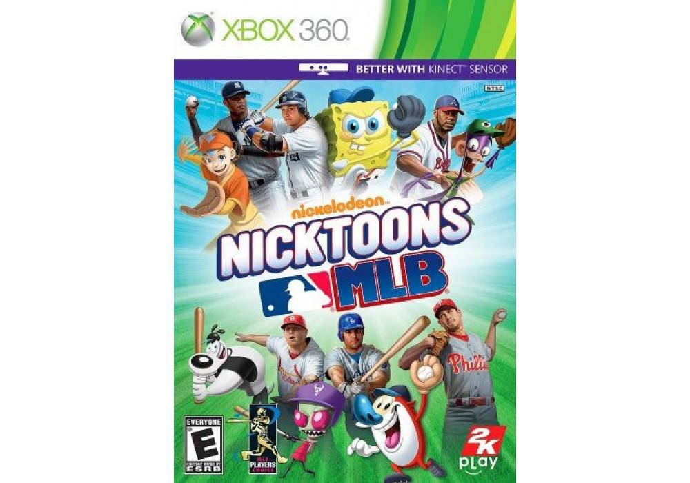 Игра для игровой консоли Xbox 360, Nicktoons MLB