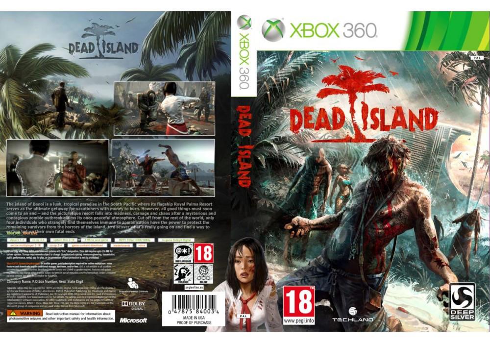 Игра для игровой консоли Xbox 360, Dead Island