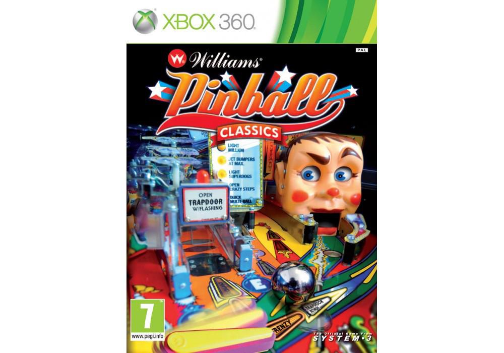 Игра для игровой консоли Xbox 360, Williams Pinball Classics