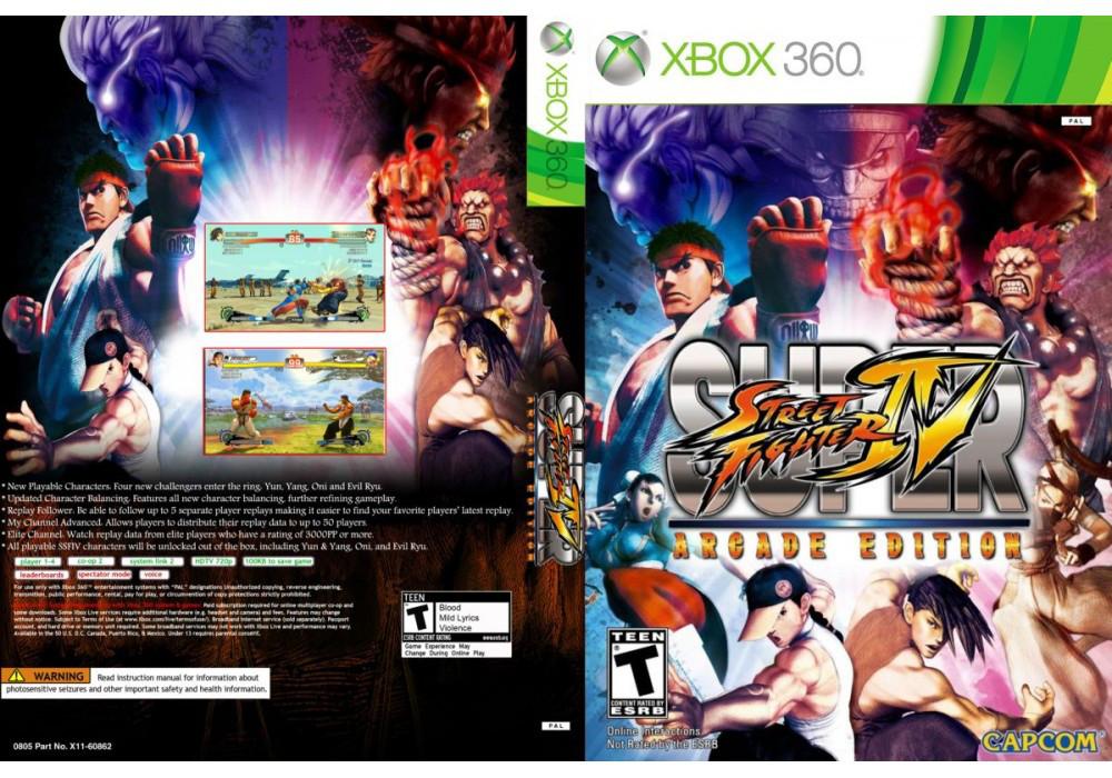 Игра для игровой консоли Xbox 360, Super Street Fighter IV: Arcade Edition
