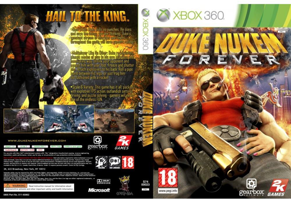 Игра для игровой консоли Xbox 360, Duke Nukem Forever