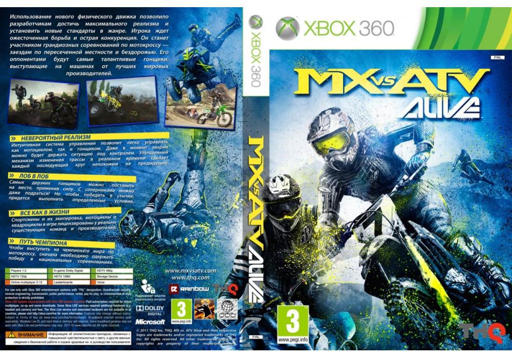 Игра для игровой консоли Xbox 360, MX vs. ATV Alive