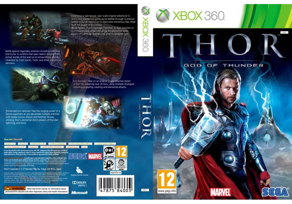 Игра для игровой консоли Xbox 360, Thor: God Of Thunder
