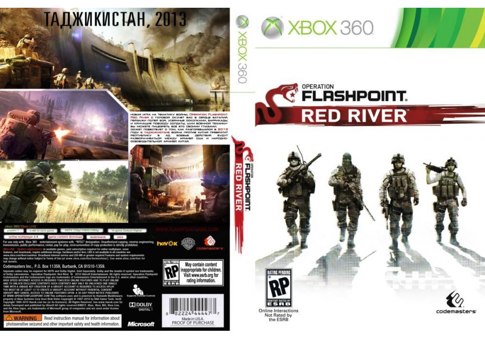 Игра для игровой консоли Xbox 360, Operation Flashpoint: Red River