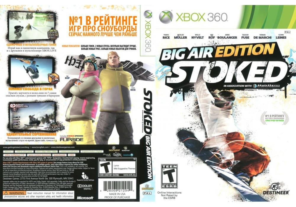 Игра для игровой консоли Xbox 360, Stoked: Big Air Edition