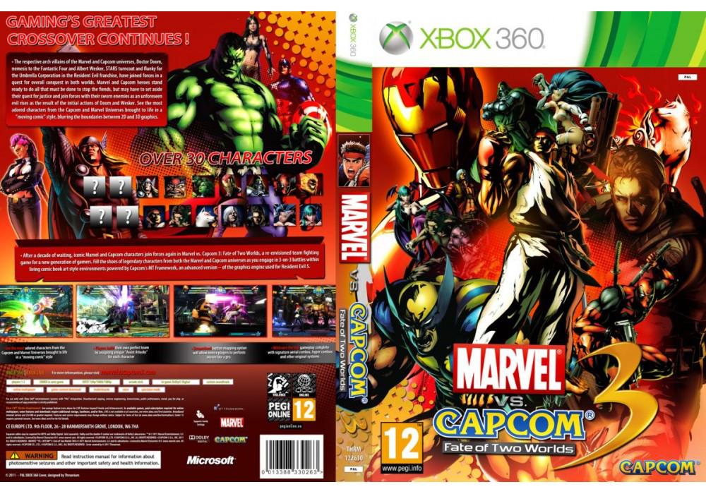 Игра для игровой консоли Xbox 360, Marvel Vs. Capcom 3: Fate of Two Worlds