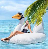 Надувной плот для взрослых Лебедь Intex, фото 1
