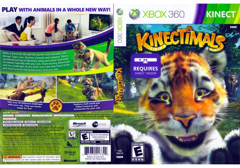 Игра для игровой консоли Xbox 360, [Kinect] Kinectimals (русская версия)