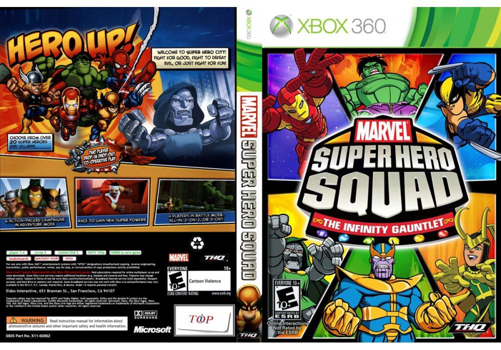 Игра для игровой консоли Xbox 360, Marvel Super Hero Squad: The Infinity Gauntlet