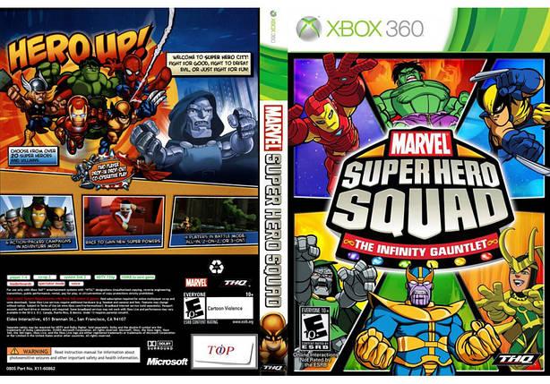 Игра для игровой консоли Xbox 360, Marvel Super Hero Squad: The Infinity Gauntlet, фото 2