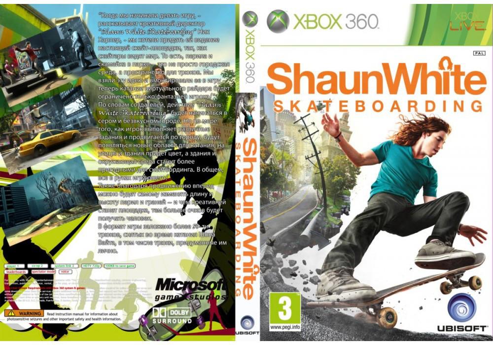 Игра для игровой консоли Xbox 360, Shaun White Skateboarding