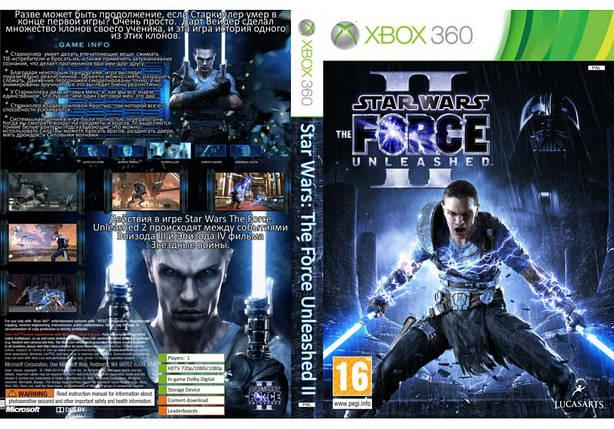 Игра для игровой консоли Xbox 360, Star Wars: The Force Unleashed II, фото 2