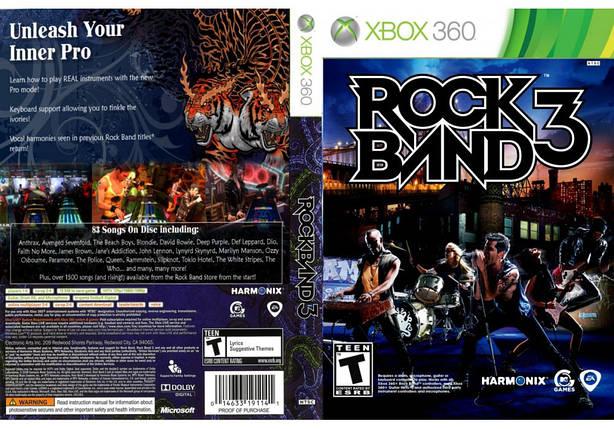 Игра для игровой консоли Xbox 360, Rock Band 3, фото 2