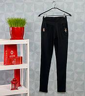 Женские брюки Ласточка А455-32-1 M. Размер 40-44. Чёрные.