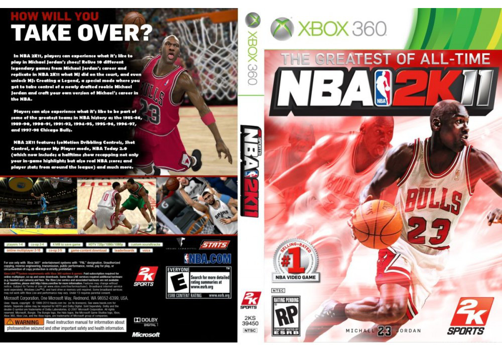 Игра для игровой консоли Xbox 360, NBA 2K11