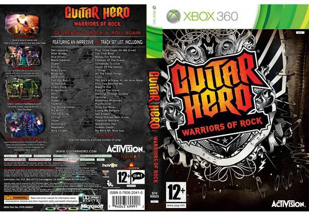 Игра для игровой консоли Xbox 360, Guitar Hero: Warriors of Rock, фото 2