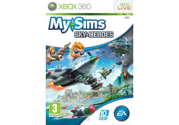 Игра для игровой консоли Xbox 360, MySims Sky Heroes, фото 2