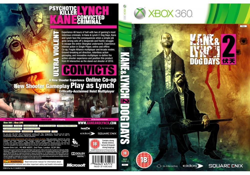 Игра для игровой консоли Xbox 360, Kane & Lynch 2: Dog Days