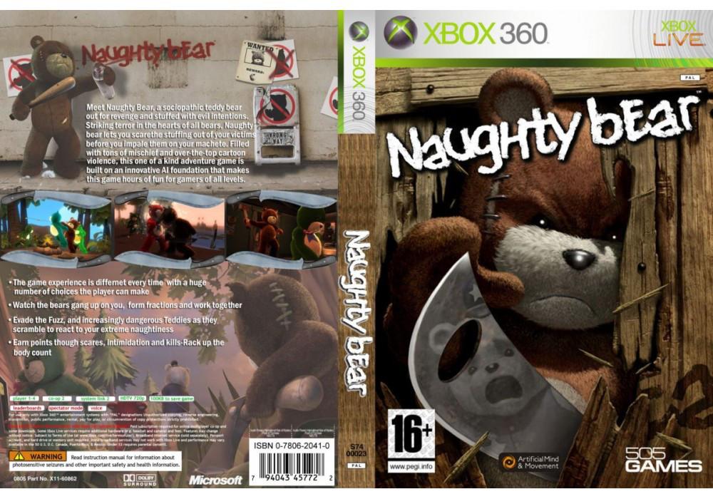 Игра для игровой консоли Xbox 360, Naughty Bear