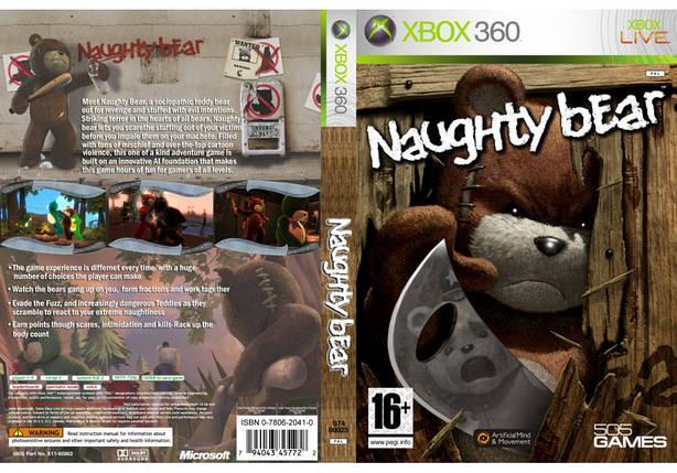 Игра для игровой консоли Xbox 360, Naughty Bear, фото 2