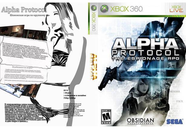 Игра для игровой консоли Xbox 360, Alpha Protocol, фото 2