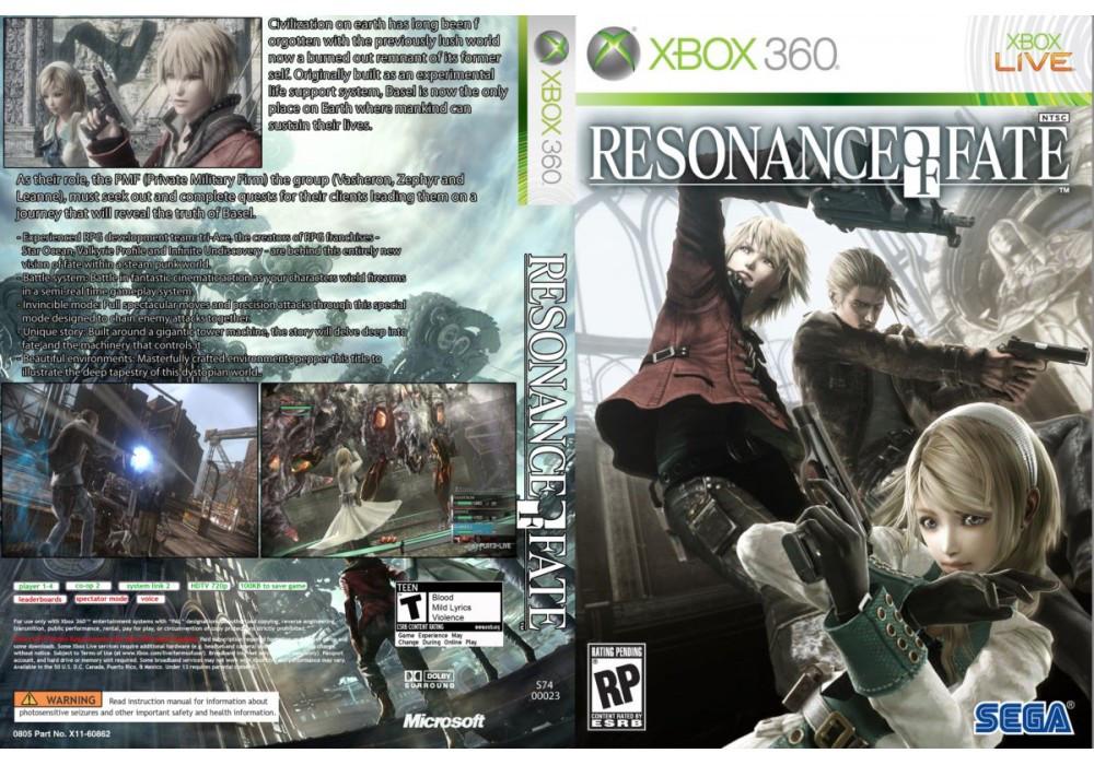 Игра для игровой консоли Xbox 360, Resonance of Fate